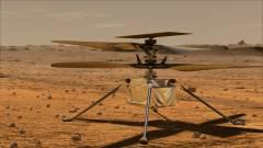 Probléma adódott, csak később repülhet a NASA Marson lévő helikoptere kép
