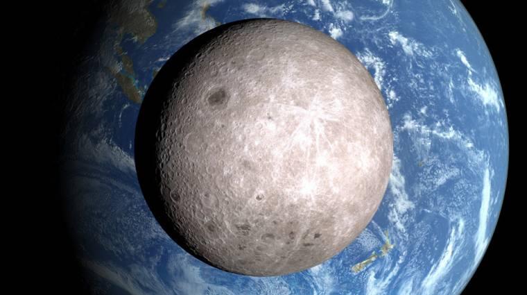 Először landolhatnak a Hold sötét oldalán a NASA szerkezetei kép