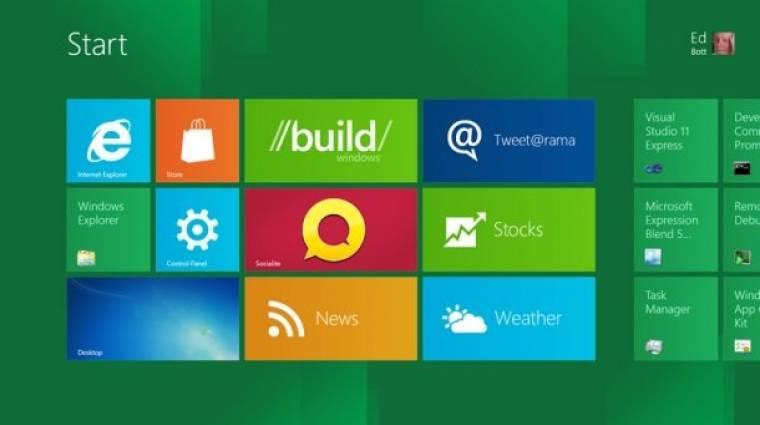 Letölthető a Windows 8 ingyenes,