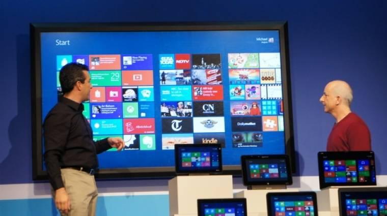 Az ESET szerint biztonságos lesz a Windows 8 kép