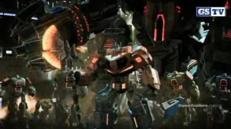 Transformers: Fall of Cybertron - debut trailer VGA 2011 bevezetőkép