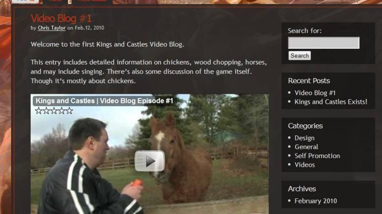 Kings and Castles E3 trailer bevezetőkép