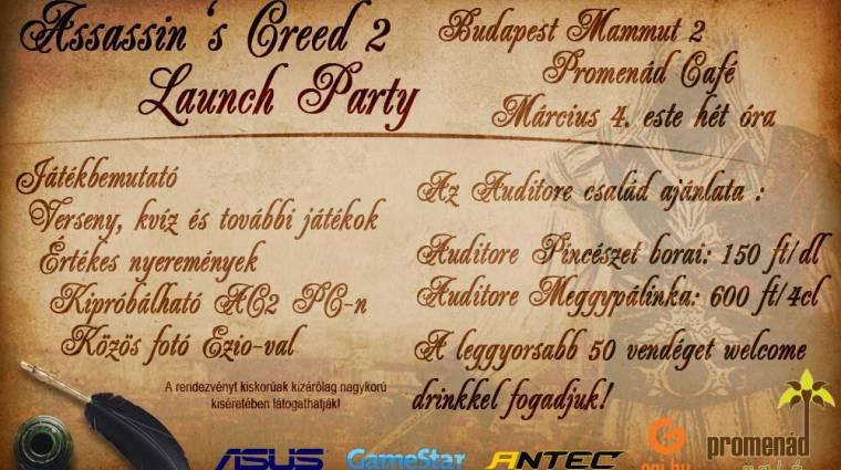 Assassin's Creed 2 launch party - Programok bevezetőkép