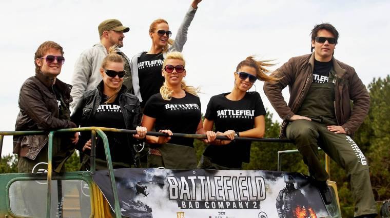 Battlefield: Bad Company 2 sajtóbemutató, sok celebbel bevezetőkép