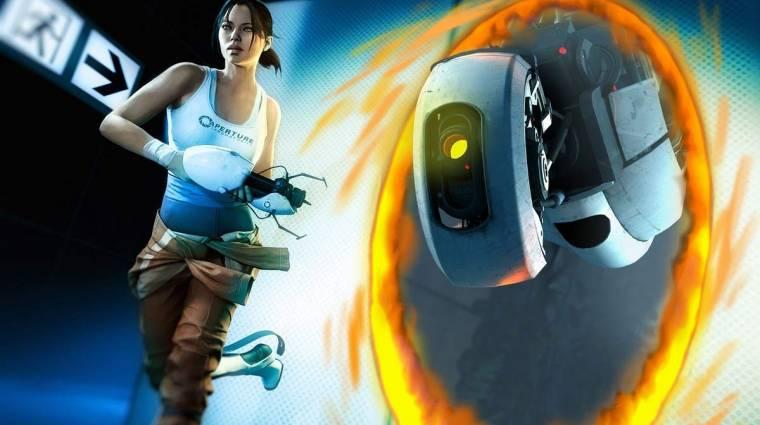 Portal 2 - elképzelni is nehéz, mit látsz két portál közé szorulva (videó) bevezetőkép