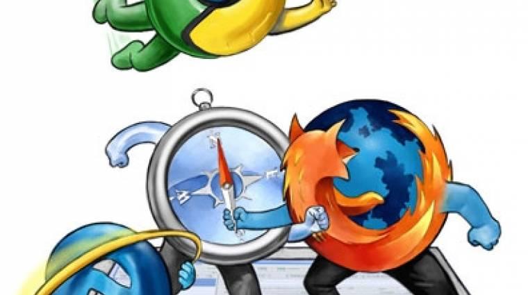 Továbbra is lejtmenetben a Chrome kép