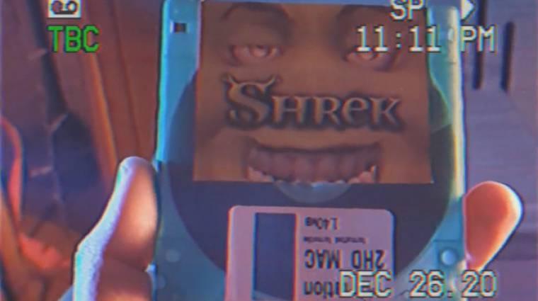 Napi büntetés: valaki kiírta az első Shrek mozit floppy lemezre kép