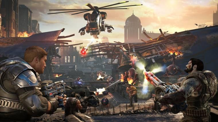 Rövidesen teljesen eltűnik az egyik Gears of War-játék bevezetőkép