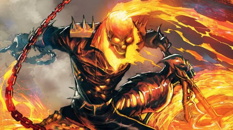 A kukában landolt a Ghost Rider sorozat bevezetőkép