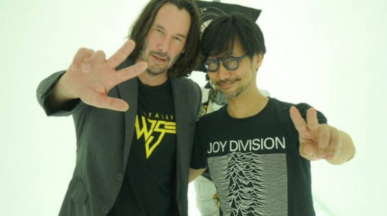 Hideo Kojima szívesen dolgozna együtt Keanu Reevesszel, a Death Strandingben is szerepelhetett volna bevezetőkép