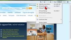 Kíváncsiak ellen: InPrivate az Internet Explorer 8-ban kép