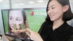 Hajlított OLED HDTV az LG-től kép