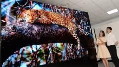 Gigászi, 163 hüvelykes TV-t mutatott be az LG kép