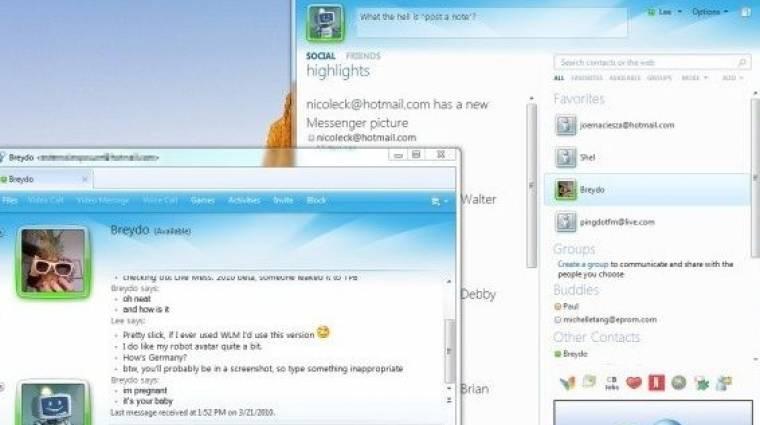 Steve Ballmer diákok előtt mutatta be az új Windows Live Messengert kép
