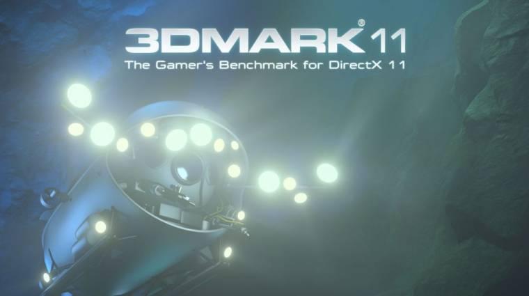 Kedden érkezik a 3DMark 11 kép