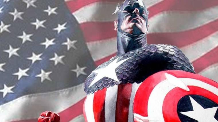A Marvel át akarja írni Amerika Kapitány eredettörténetét bevezetőkép