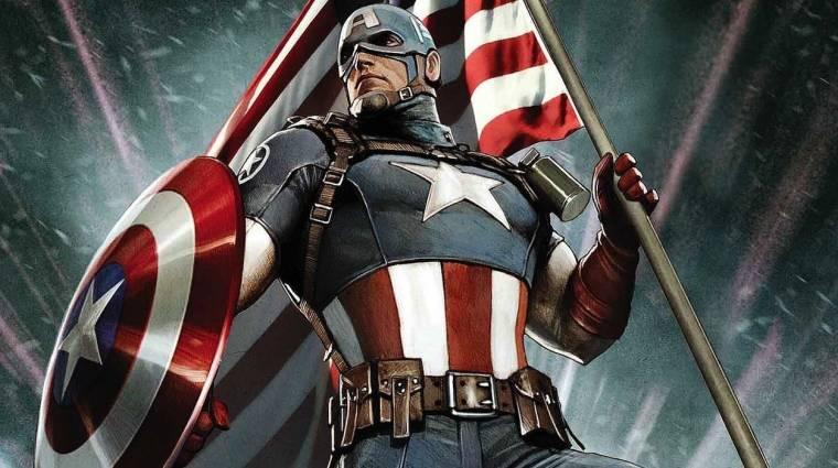Megdöbbentő az új Amerika Kapitány képregény fordulata bevezetőkép