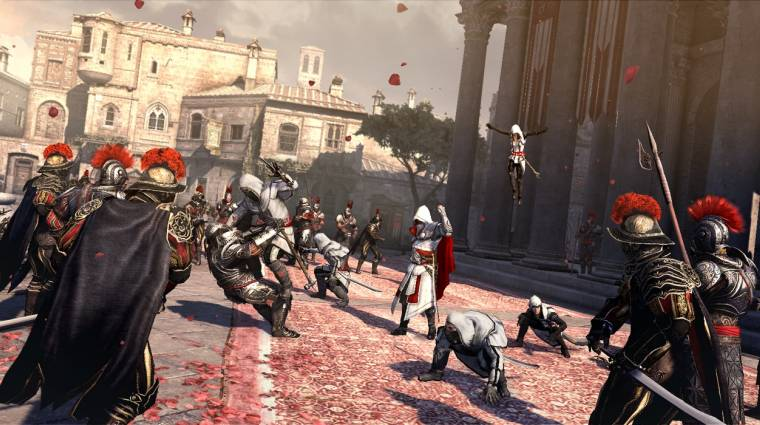 Assassin's Creed: Brotherhood - Multiplayer béta trailerek bevezetőkép