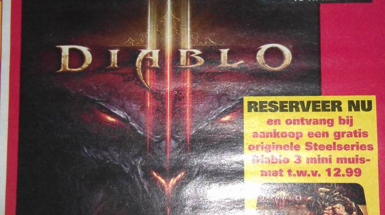 Diablo III - a Blizzard szerint is lehetett volna jobb bevezetőkép