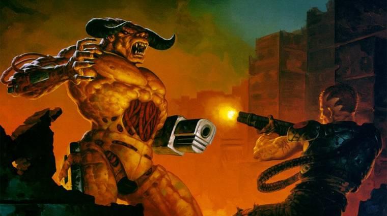Rengeteg új tartalmat kapnak a Doom és Doom 2 konzolos változatai bevezetőkép