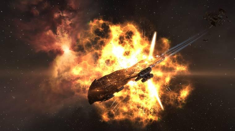 Grandiózus űrcsatát rendezett az EVE Online-ban egy rákbeteg játékos bevezetőkép