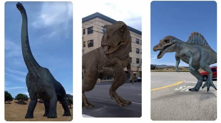 Hamarosan dinoszauruszok lepik el a Goolge-t kép