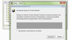 Már készül az Internet Explorer 10 kép