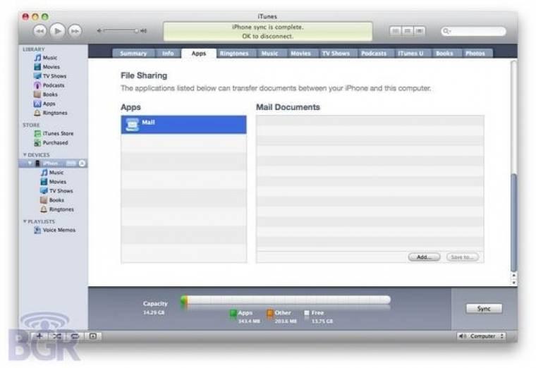 iPhone OS 4.0 beta 3