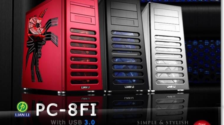 Lian Li PC-8FI számítógépház: halk és hűvös megoldás játékosoknak kép