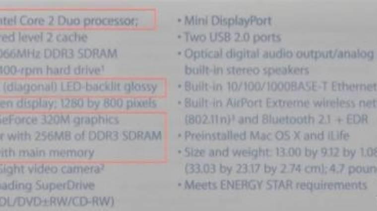 Videón az új Apple MacBook kép