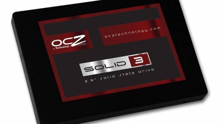 OCZ Solid 3: pénztárcabarát SSD-család kép