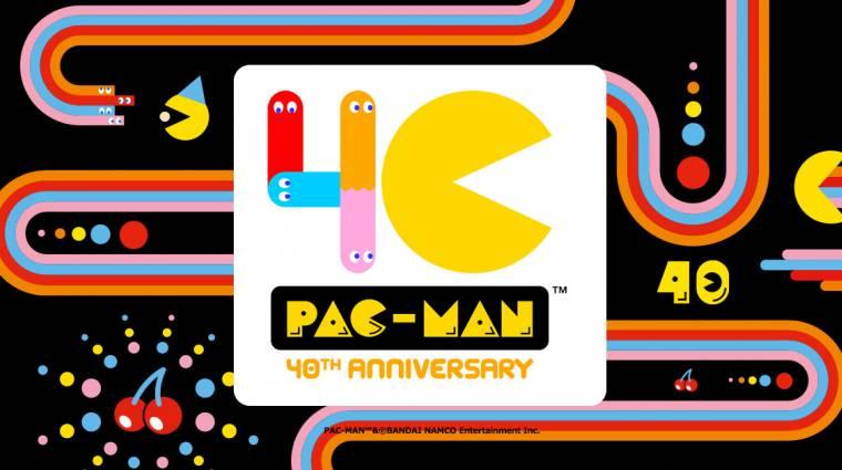 40 éves Pac-Man, a világ egyik legikonikusabb videojátékos karaktere bevezetőkép