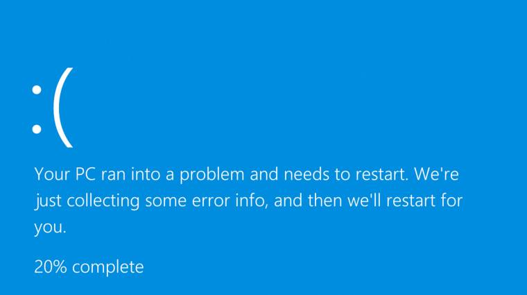 Bosszantó Windows-hibák az áprilisi PC Worldben kép