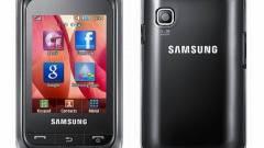 Apró érintős mobil a Samsungtól kép