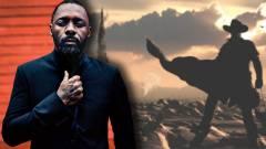 Lesifotón Idris Elba a Setét Torony forgatásán kép