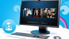 Nem csevegőnek indult Skype kép