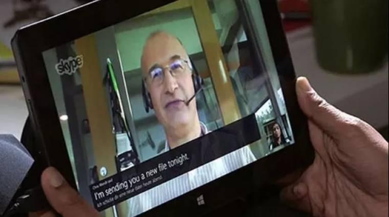 Elég rosszul időzítették a Skype frissítését kép