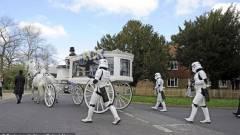 Egy kisfiú utolsó kívánsága egy Star Wars témájú temetés volt kép
