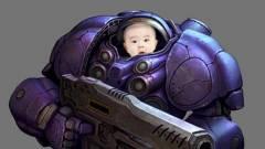 Egy profi játékos egy StarCraft egységről nevezi el gyermekét kép