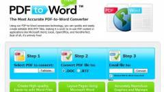 Napi tipp: PDF-ből Word-fájlt kép