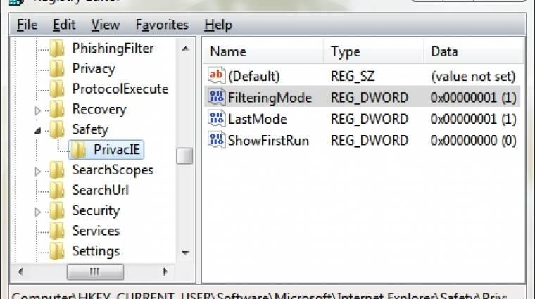 Napi tipp: végleges InPrivate-szűrés IE9 alatt kép