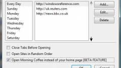 Napi tipp: Morning Coffee - több kezdőlap Firefoxban kép