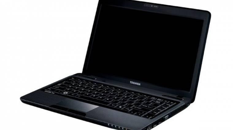 Toshiba notebook 3D-s Blu-ray-tartalommal kép