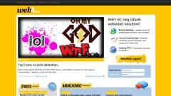 Csatlakozz közösségi oldalunkhoz, a Web4-hez, és hozd létre saját weboldalad! kép
