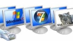 Behálózott rendszerek: hálózat Windows 7, Vista, XP és Macintosh közt kép