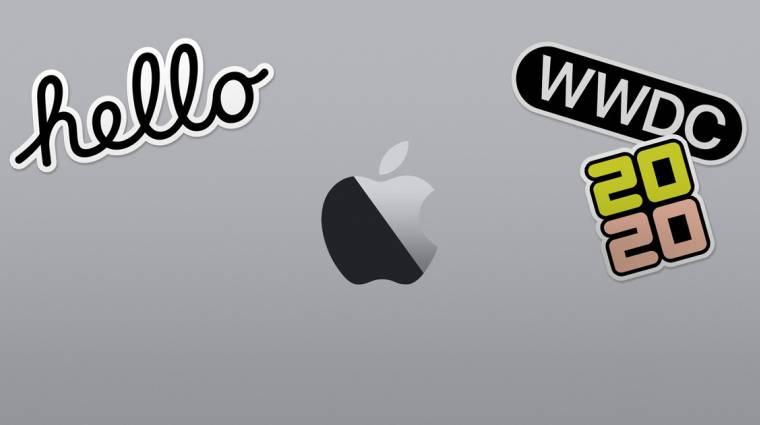 Az Apple WWDC-t csak virtuálisan rendezik meg, már van dátum is kép