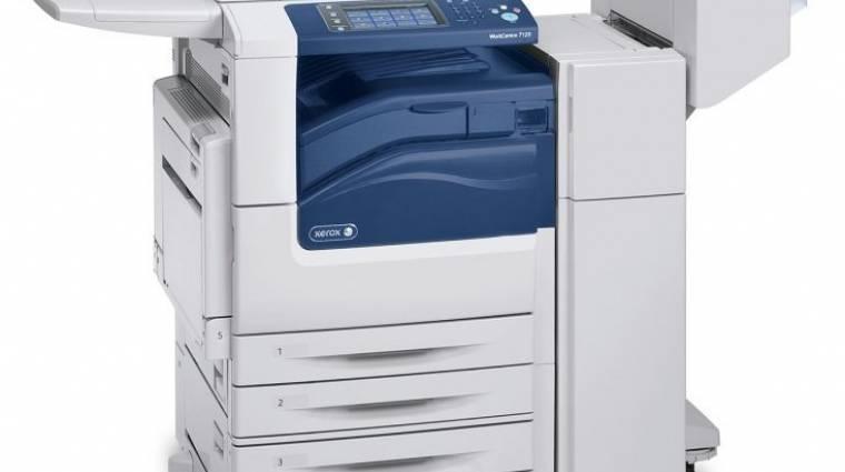 A Xerox új A3-as MFP-je nem felejt el takarékoskodni kép