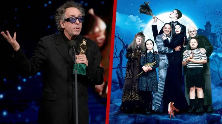 HIVATALOS: A Netflix berendelte Tim Burton Wednesday Addamsről szóló sorozatát kép