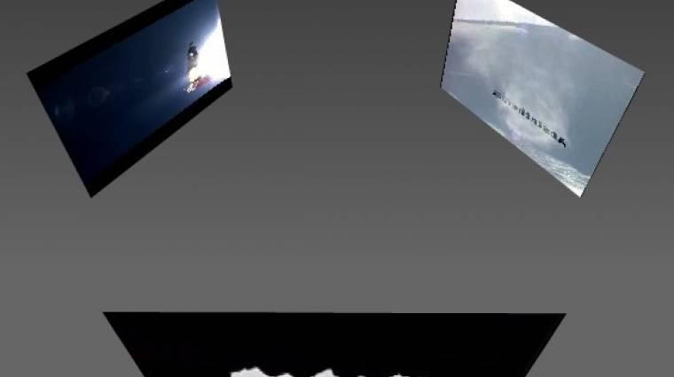 Jön a 3D Flash Player kép