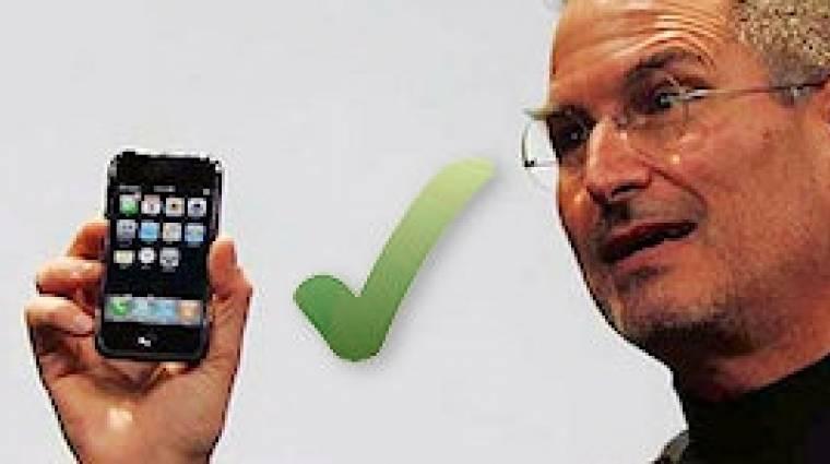 Apple iPhone 4: balkezeseknek nem ajánlott (frissítve!) kép